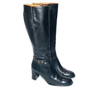 J.Crew Women's - 6 Tall Black Heeled Boots